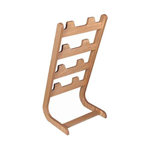 ZZYE Zapatero Estantería de almacenamiento de almacenamiento de estante de estante de madera de 4 niveles de pie 4 niveles Estantes de almacenamiento de estantes del almacenamiento de la entrada del b
