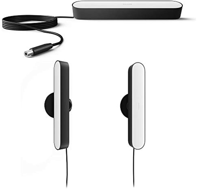 Philips Hue Play LED Tischleuchte, Schwarz - 3er Set inkl. Netzteil  Gaming-Beleuchtung Ambilight für Monitor oder Fernseher