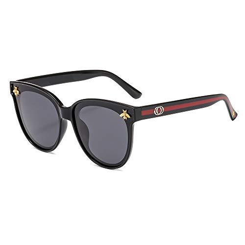 KDAQO Polarisierte Sonnenbrillen, gerahmte Sonnenbrille, UV-beständig im Freien Spielraum Brille, Radfahren, Fahren, Angeln, Golf, Bergsteigen, Unisex (Size : A)