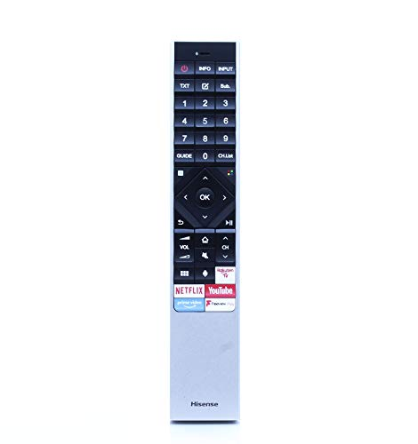 Hisense ERF6B62H Original Sprach Fernbedienung für H55U8B H65U8B H49N5500UK H49N5700UK 2019 2020 Smart OLED Fernseher