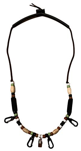 Ultimate Fly Fishing Lanyard - Lime, Brown, Black - PRO - Replace The...