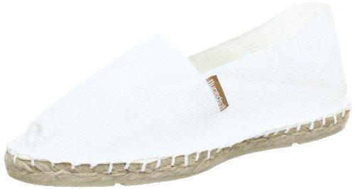Espadrij l'originale Classic Blanc weiß White Espadrilles Sommerschuhe Leinen (39)