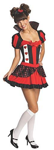 Rubie's - Costume Regina di Cuori, Multicolore, Small, IT886294-S