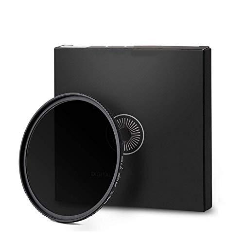 LOOEST Ultra Delgado, Impermeable ND1000 ND Filtro 10 Stop Nano-X MRC Densidad Neutra 52mm 58mm 62mm 67mm 72mm 77mm 82mm Cámara Variable Filtro de Lente para Lente de cámara (Caliber : 67mm)