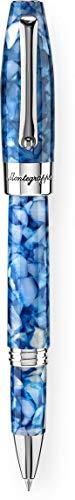 Price comparison product image Montegrappa Fortuna Marrakech Mosaico (Steel & Blue) Rollerball Pen