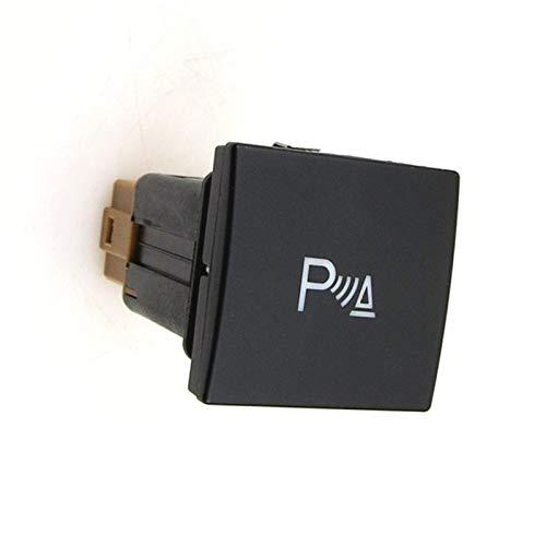 GESSIE WZ02 Auto Accessary Reflexivo Ajuste de Estacionamiento Control Assist System Switch PDC OPS Radar Botón para VW Jetta Golf 6 MK6 CH0408 (color : OPS Radar btn)