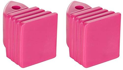 Croxer Inliner-Bremse Bremsstopper Bremsklotz aus Plastik für Inlineskates Balloon 29-32,33-36 (pink)