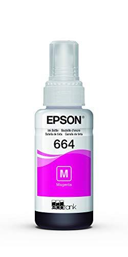 Garrafa de Tinta Original Epson EcoTank 664 Magenta - T664320