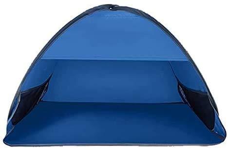 Pop Up Camping Beach Tienda Pop UpCamping Tienda Fácil de configurar la carpa de playa automática portátil con bolsa de transporte, UPF 50+ Tienda de protección UV for la playa al aire libre Camping f