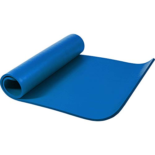 GORILLA SPORTS Yogamatte 190 x 100 x 1,5 cm für Fitness, Pilates, Gymnastik – Sportmatte in Royal, rutschfest und phthalatfrei