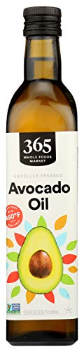 365 by Whole Foods Market, Expeller Pressed Cooking Oil, Avocado, 16.9 Fl Oz