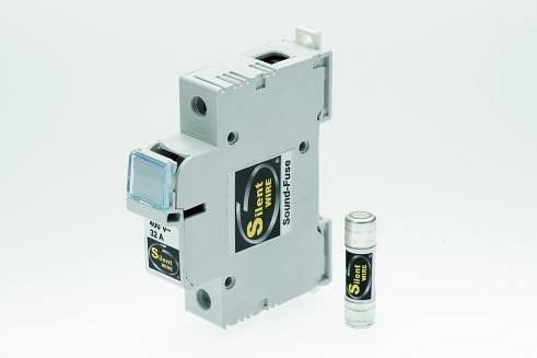 Silent Wire Klangmodul mit Klangsicherung bis zu 32A | Stromstärke: 16A / Ausführung: Klangmodul mit Audiosicherung