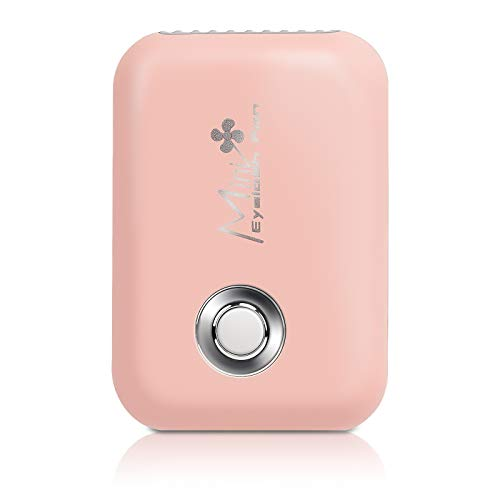 USB Mini Upgrade Eyelash Extension Fan, Feugole New Portable Rechargeable Bladeless Air Conditioning Cooling Refrigeration Blower Fan for Eyelash Extension