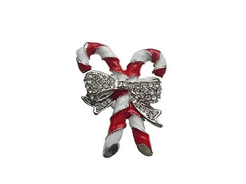 Brosche Magnetbrosche Schal Clip Bekleidung Poncho Taschen Stifel Textilschmuck Zucker Stange Schleife Strass