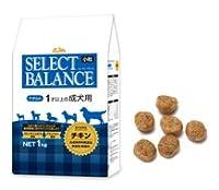【リニューアル】【セレクトバランス】 アダルト チキン小粒1kg