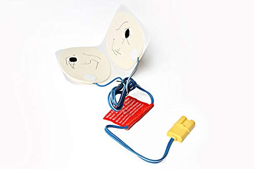 powerful Set of 5 AED red electrode training electrodes
