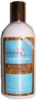 Bungalow Glow Seaside Pikake & Water Lily premium organics coconut butter body lotion
