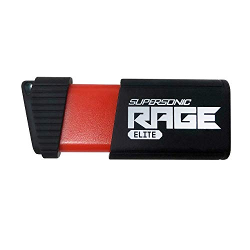 Patriot 256GB Supersonic Rage Elite Series USB 3.0 Flash Drive with Up to 400MB/sec Read, 300MB/s Write - PEF256GSRE3USB