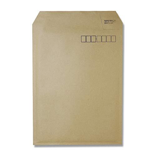 コクヨ ホフ−24 小包封筒(軽量タイプ)B5用封かん用口糊付き茶 10枚セット
