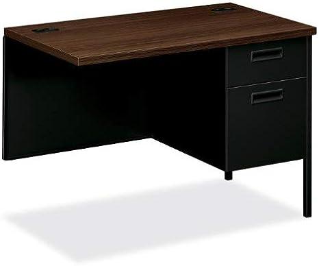 Hon Right Pedestal Return Desk 42 X 24 X 29 1 2 Black Furniture Decor