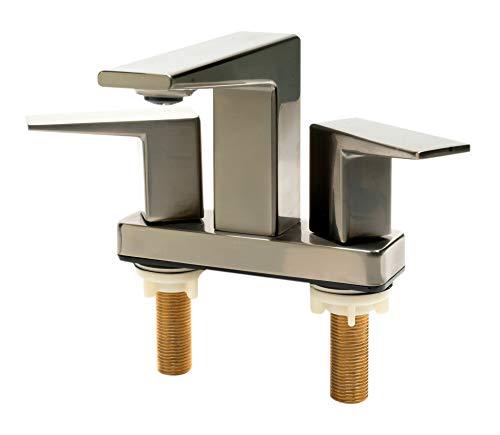 Alfi AB1020-BN Grifo para baño, Níquel cepillado