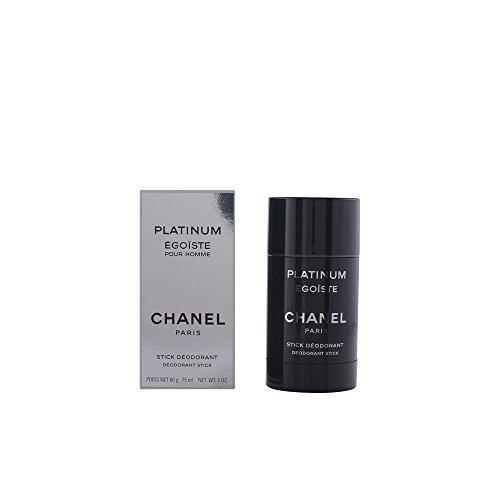 Chanel Platinum Egoiste Men, Deodorant Stick, 1er Pack (1 x 75 ml)