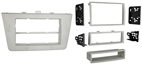 Metra 99-7511 Single DIN or Double DIN Installation Dash Kit for Mazda 6 (Silver)