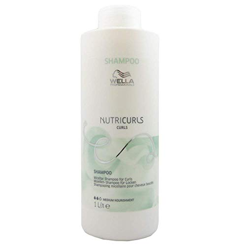 Wella Professionals Nutricurls Curls Shampoo, 1000 ml