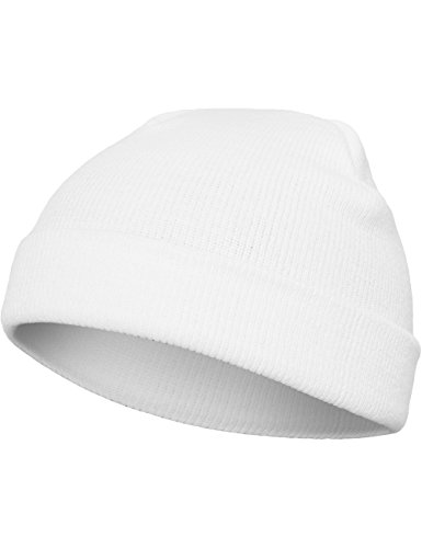 Flexfit Mütze Heavyweight Beanie, white, one size, 1500KC-00220-0050