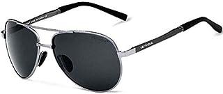 نظارات شمسية بايلوت يورت للرجال من فيتديا UV400