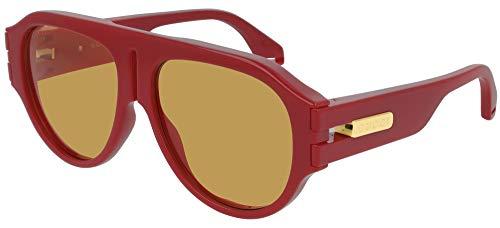 Gucci Gafas de Sol GG0665S Red/Brown 58/15/145 hombre