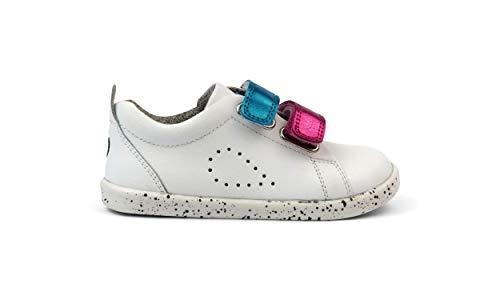 Bobux I-Walk Grass Court Switch - Caminantes - Zapatillas de Piel de Bebés Bobux con Cierres automáticos Intercambiables