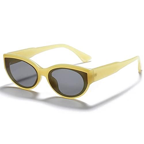 LUOXUEFEI Gafas De Sol Gafas De Sol Mujer Gafas De Sol Señoras Verde Rosa Verano