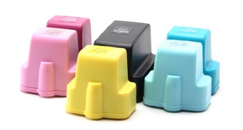 6x Compatible tinta cartuchos XL reemplazo for HP-363 (black / cyan / magenta / yellow / light cyan / light magenta)