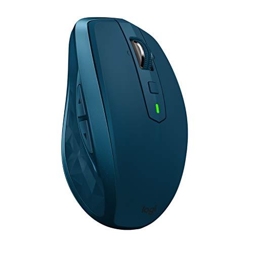 ロジクール ワイヤレスマウス 無線 マウス ANYWHERE 2S MX1600sMT Unifying Bluetooth 高速充電式 FLOW対応 7ボタン windows mac iPad OS 対応 MX1600s ミッドナイトティール 国内正規品 2年間無償保証