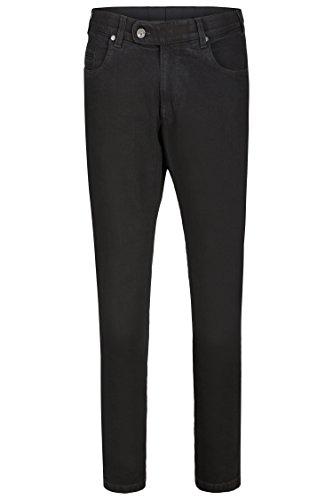 aubi: Herren Jeans Hose Stretch Modell 577 Black Größe 25