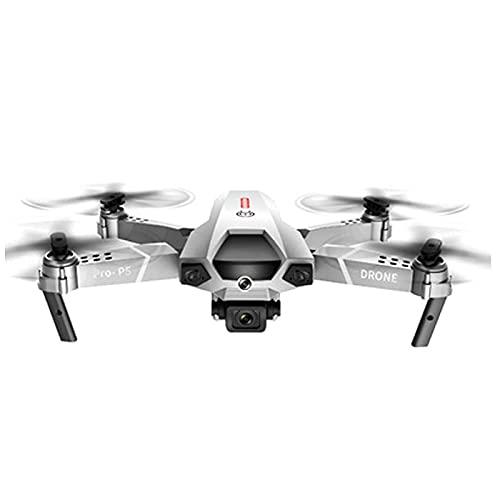 4K Dual Camera Elicottero Modello Fotografia Modello Telecomando per Bambini Fotocamera Aereo Quadcopter Drone Drone A Quattro Assi, Volo Traiettoria, HD Live Video Nero