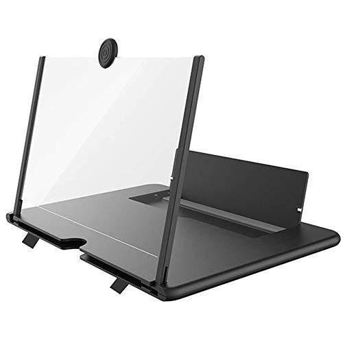 kumako スクリーンアンプ 携帯電話 スクリーンルーペスタンド スマホ画面 拡大10''Pullアウトスマートフォン用ハンドスクリーン拡大鏡、映画、ビデオ、およびゲームのためのユニバーサル携帯電話の3D拡大鏡プロジェクタースクリーン 母の日ギフト 父の