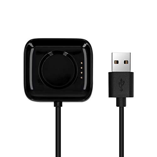 kwmobile Cable de Carga Compatible con OPPO Watch (46mm) - Conector USB con Base de conexión para Fitness Tracker y smartwatch