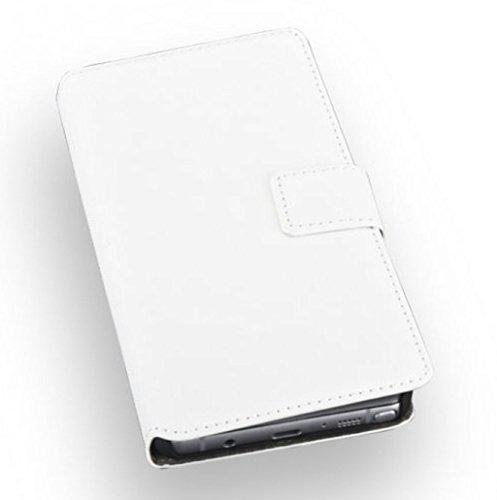 'de haute qualité premium BookStyle Étui de protection à rabat Blanc pourSamsung Galaxy Note 7 Housse étui coque portable Case Cover Wallet