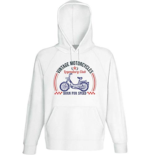 Teesandengines Benelli g2 pedali Vintage Motorcycles Sudadera con Capucha Size Small
