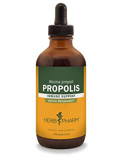 Herb Pharm Propolis Liquid Extract for Immune System Support - 4 Ounce