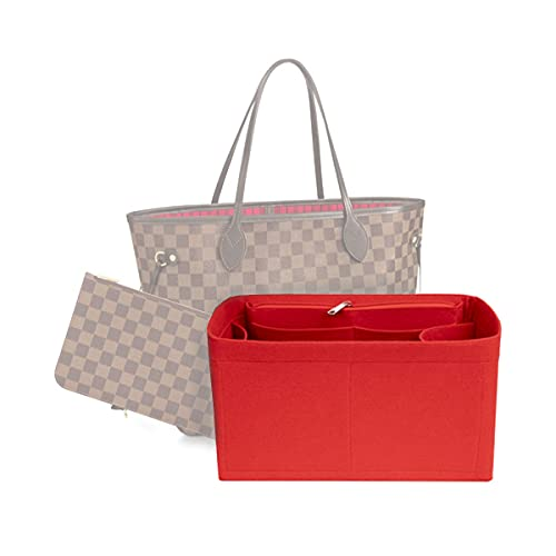 Cosmetic Organizer Travel Cosmetic Bag Sundries Sorting (32CM, Red)