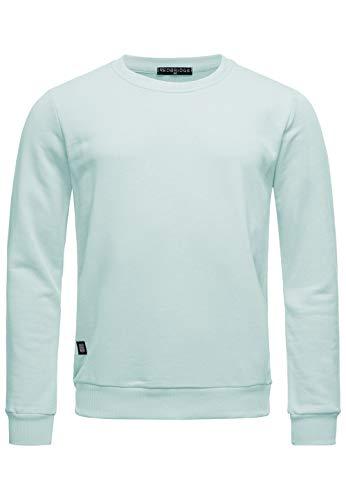 Red Bridge Herren Crewneck Sweatshirt Pullover Premium Basic,Grün-ii,XXL
