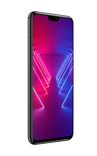 "Ver 10 Honor Smartphone Lite, preto, memória 128GB, RAM 4GB, 6.5 Display ""FHD +, AI Duplo 20 + 2MP [Italiano]"