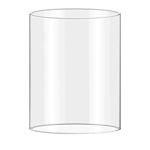 Royal Catering - Hot Dog Maker Hot Dog Gerät Glaszylinder (Ø20 cm, 24 cm Zylinderhöhe, hitzebeständig, spülmaschinengeeignet) Transparent