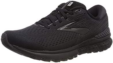 Brooks Mens Adrenaline GTS 19 Running Shoe - Black/Ebony - D - 11.0