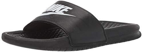 Nike Nike Benassi Jdi, Herren Flip Flop, Schwarz (Black), 44 EU