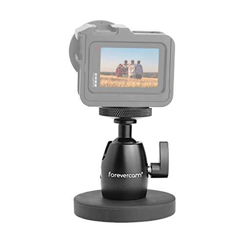 Forevercam Magnetkamerahalterung & Magnetkamerastativ Magnetfuß Nootle Mini-Kugelkopf Hochleistungsmetall Zum sicheren Befestigen an Stahl oder Anderen magnetischen Oberflächen