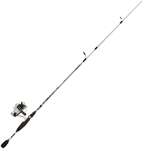 Abu Garcia Ike Dude Fishing Rod and Spinning Reel Combo, 6 Feet, Medium Power, Two-Piece